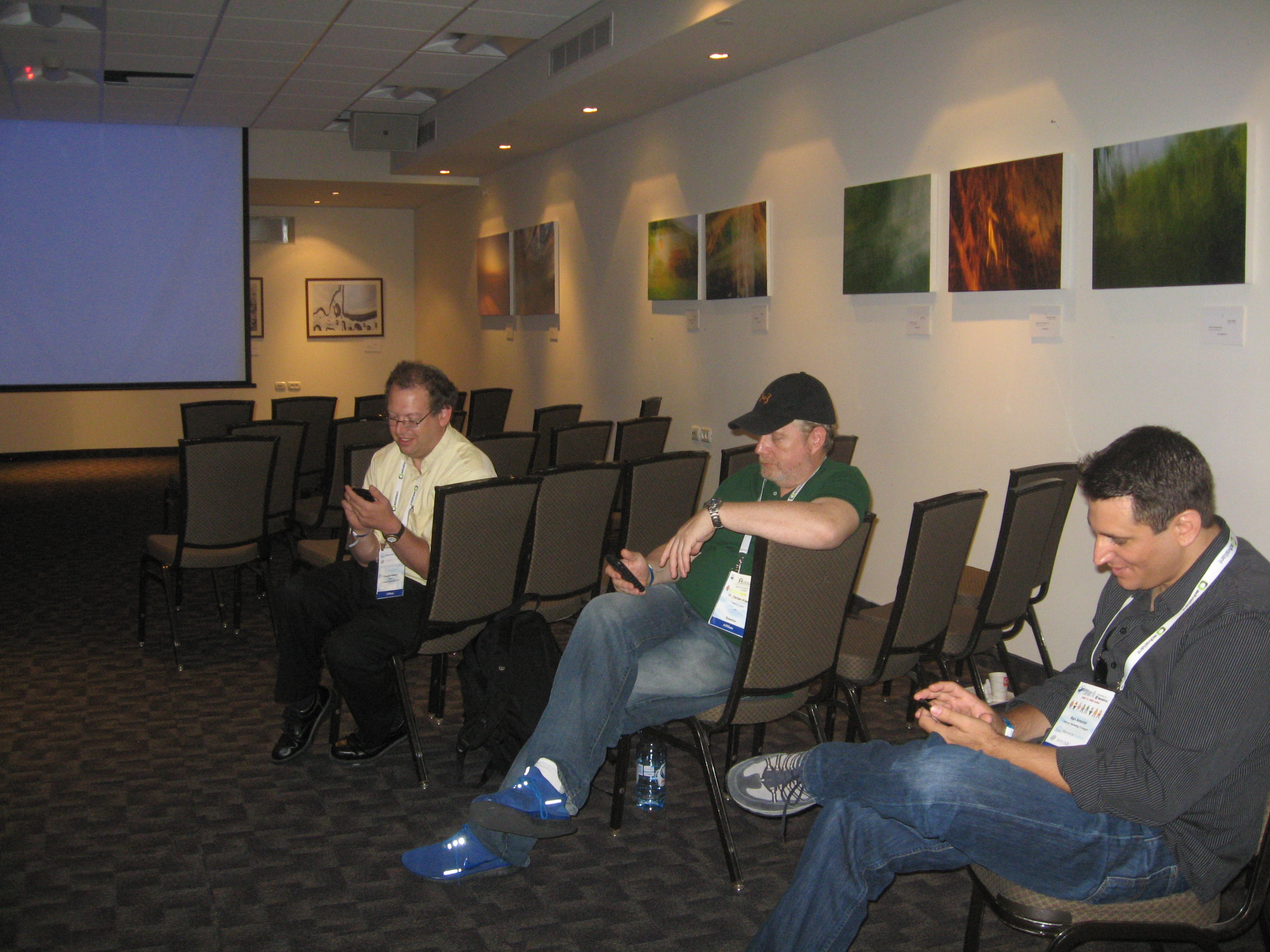 During the Drill: Charlie Kalech, Harlan Kilstein, and Ran Aroussi on Crackberry, Affilicon '09