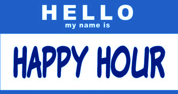 happy hour blue