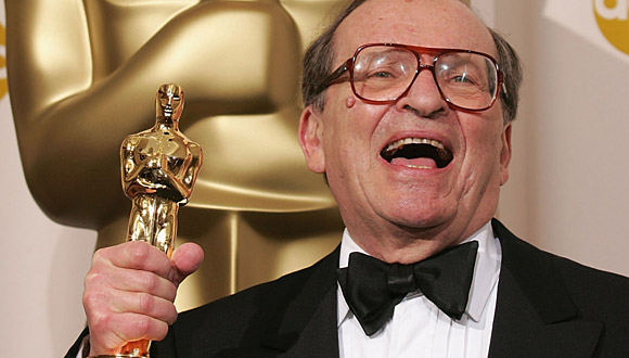 Lumet with an honorary Oscar