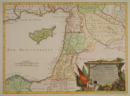 Old Syria Palestine Map