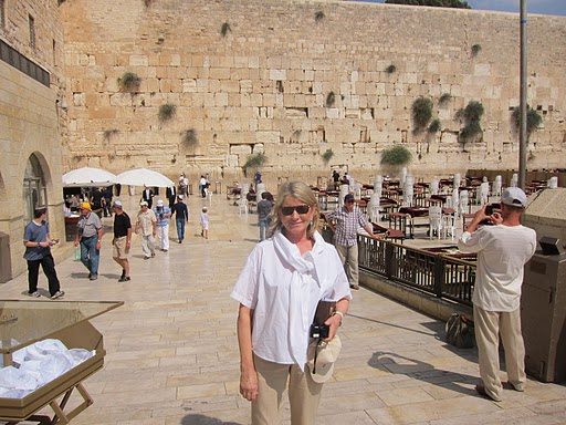 Martha Stewart in Jerusalem