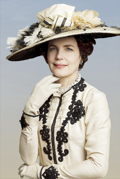Lady Cora, as played by Elizabeth McGovern