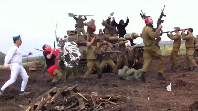 IDF Artillery Harlem Shake