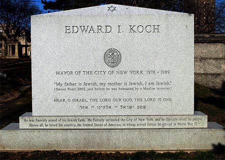 Headstone Sayings For Mother http://www.jewlicious.com/2013/02/former-mayor-of-new-york-ed-koch-dead-at-88/