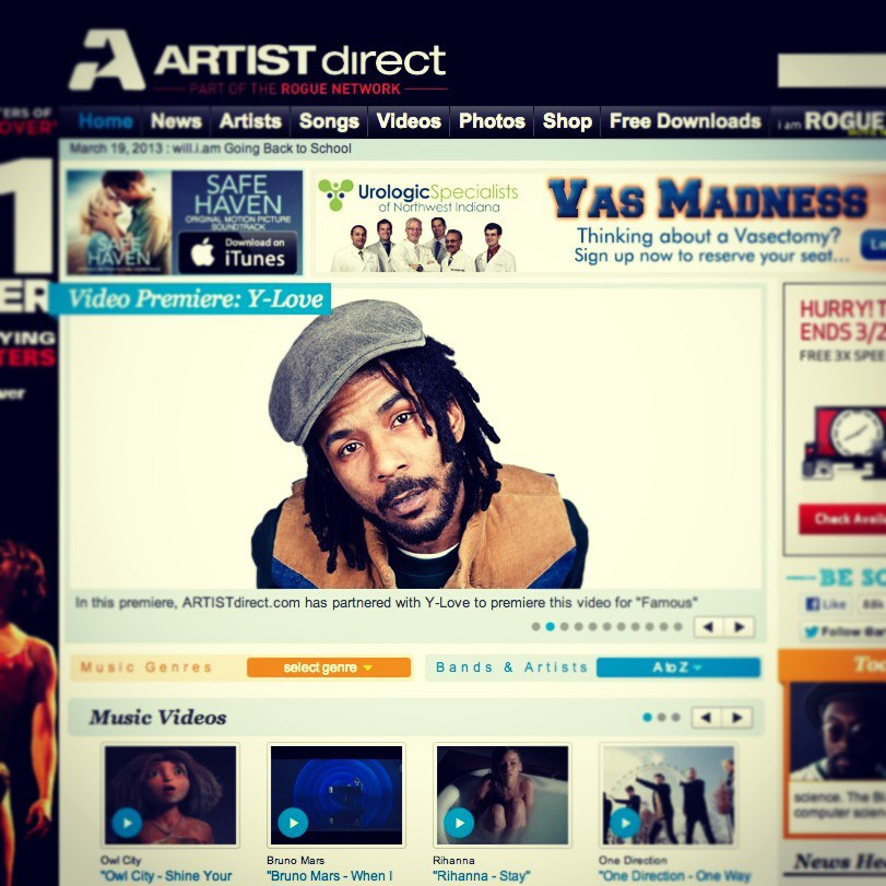 yloveartistdirect