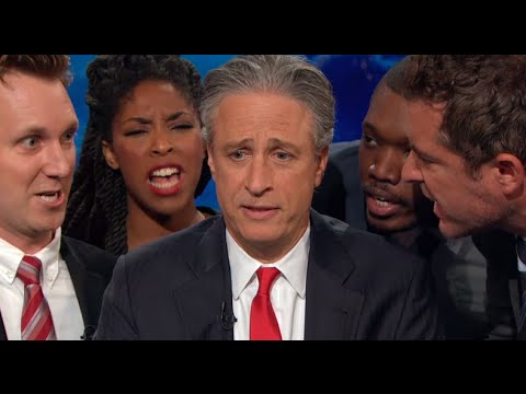 Jon Stewart Tries to Talk About Israel