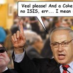 Netanyahu and Adelson Eat Traif in NY: The Bad and the Good.