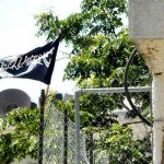 Black Jihad Flags Fly Over Jerusalem
